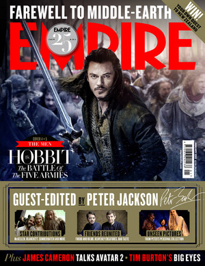 The Hobbit: The Battle Of The Five Armies - Empire Magazine Cover