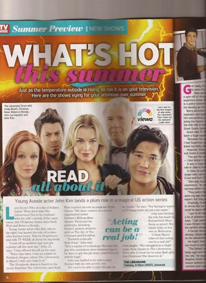 The Librarians - TV Week Australia