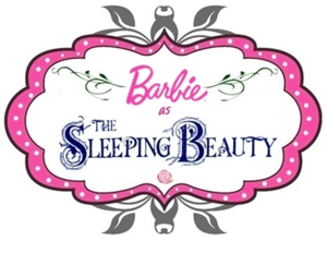 The Logo of Barbie™ as The Sleeping Beauty !!!