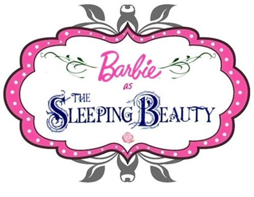 Barbie films afbeeldingen the logo of barbie as the sleeping barbie films achtergrond titled the logo of barbie as the sleeping beauty voltagebd Images