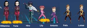 The Lyoko Warriors New Generation