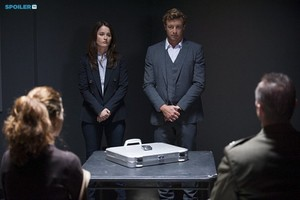The Mentalist - Episode 7.05 - The Silver aktentasche, aktenkoffer - Promotional Fotos