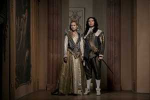 The Musketeers - Season 2 - Cast Photo - King Louis XIII and Queen Anne