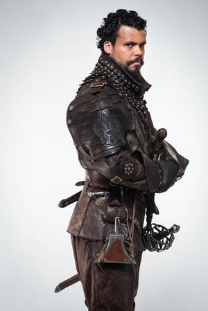The Musketeers - Season 2 - Cast picha - Porthos