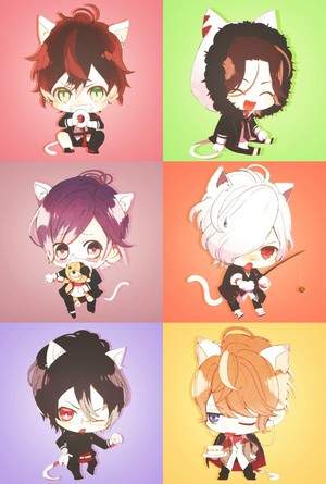 The Neko Versions of Sakamaki Brothers