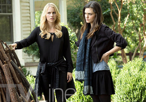 Teen テレビ shows 壁紙 titled The Originals 2.09 ''The Map of Moments''