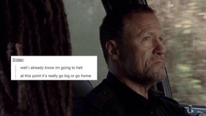 The Walking Dead | Tumblr Text Post - Merle