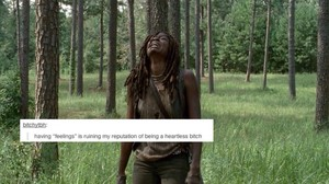 The Walking Dead | Tumblr Text Post - Michonne