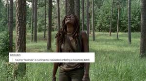 The Walking Dead   Tumblr Text Post - Michonne
