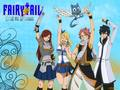 The Wizards Of Fairy Tail !
