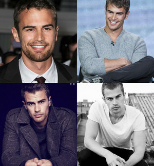 Theo James Collage
