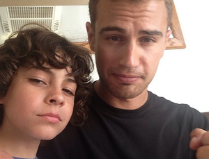 Theo James and Emjay Anthony (Four and Hector,Insurgent)