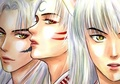Three Demons - inuyasha fan art