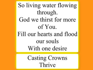 Thrive lyrics