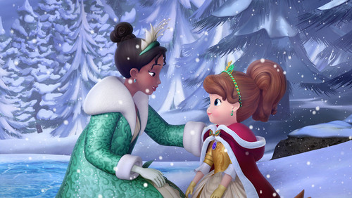 The Princess and the Frog wallpaper called Tiana in Sofia the First
