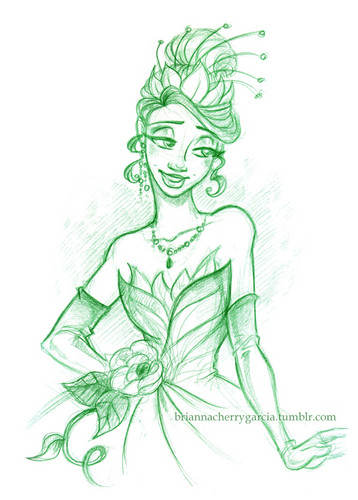 The Princess and the Frog wallpaper entitled Tiana