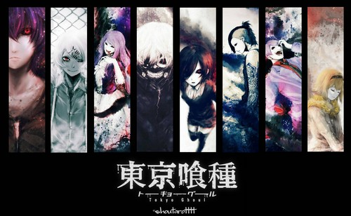 tokyo ghoul fondo de pantalla with a stained glass window and anime called Tokyo Ghouls