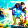 Robert Downey Jr. photo titled Tony Stark