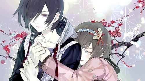 tokyo ghoul fondo de pantalla entitled Touka and Hinami