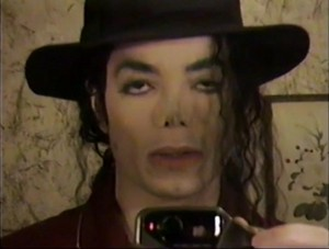 Uhmm... MJ in the mirror