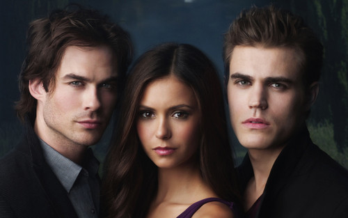 The Vampire Diaries پیپر وال containing a portrait called Vampire diaries