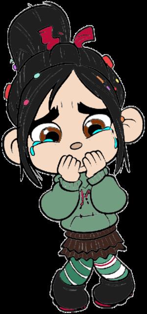 Vanellope von Schweetz Crying