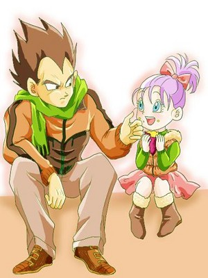 Vegeta and Bra - Happy Birthday BraBrief!