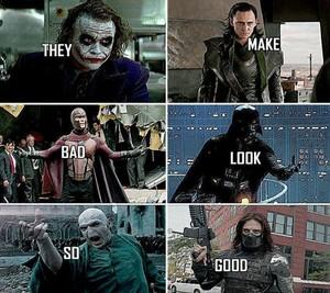 Villains Meme