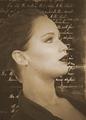 Vintage portrait - jennifer-lawrence fan art