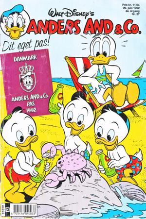 Walt Disney Comics - Donald Duck, Huey Duck, Dewey Duck & Louie Duck