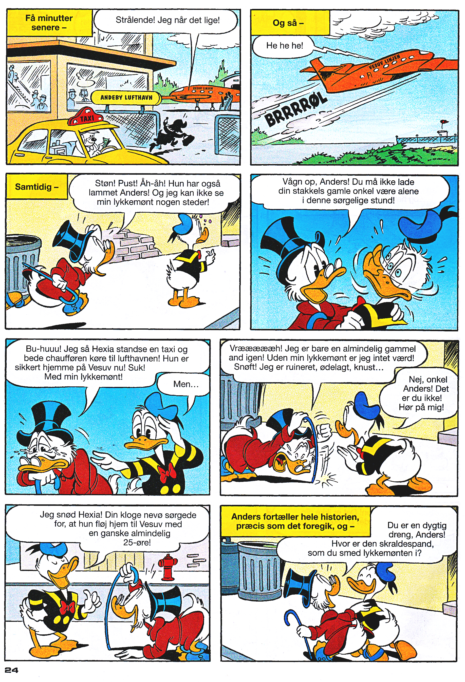 Walt Disney Comics - Donald Duck: Magica Outwitted by Donald (Danish Edition)