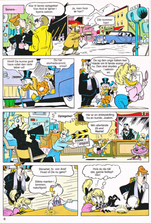Walt 디즈니 Comics - Scrooge McDuck: His Life's Story (Danish Edition)