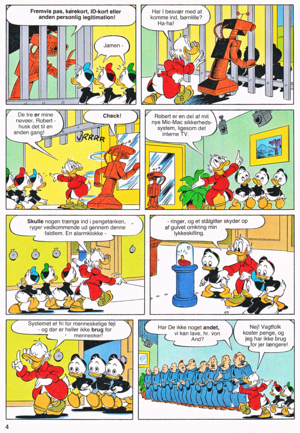 Walt Disney Comics - Scrooge McDuck: System Change (Danish Edition)