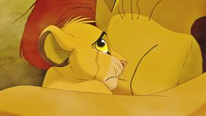 Walt Disney Screencaps - Mufasa & Simba