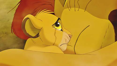 Walt Disney Characters karatasi la kupamba ukuta entitled Walt Disney Screencaps - Mufasa & Simba