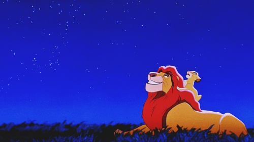 Walt Disney Characters wallpaper called Walt Disney Screencaps - Mufasa & Simba