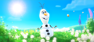 Walt 디즈니 Screencaps - Olaf