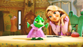 Walt Disney Screencaps - Pascal & Princess Rapunzel