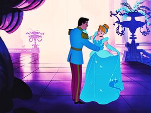 Walt Disney Screencaps - Prince Charming & Princess cinderella