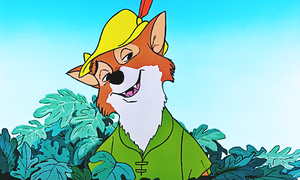 Walt Disney Screencaps - Robin hud, hood