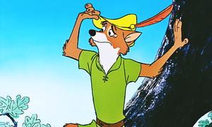 Walt ডিজনি Screencaps - Robin ঘোমটা