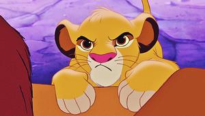 Walt Disney Screencaps - Simba & Mufasa