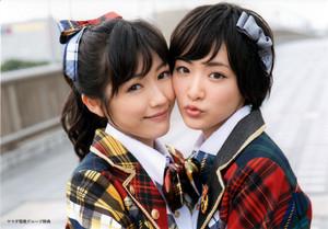 Watanabe Mayu and Ikoma Rina - Kibouteki Refrain