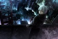 White-Haired Kaneki Hintergrund