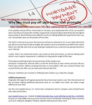 Why anda must pay off your halaman awal loan promptly