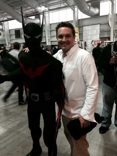 Will Friedle and Batman