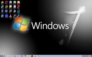 Windows 7 Black Screenshot 1680x1050