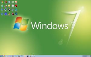 Windows 7 Green Screenshot 1920x1200