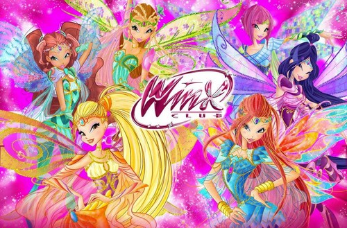 Winx Club fond d'écran probably with animé titled Winx Club Bloomix