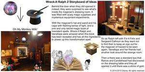 Wreck-It Ralph 2 Storyboard of Ideas 16
